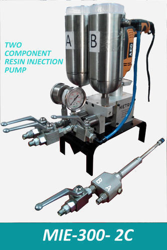 Double Component Epoxy Grouting Pump