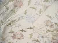silk dupion embroidered fabrics
