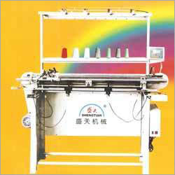 Semi Auto Flat Knitting Machine