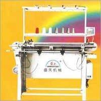 Semi Auto Flat Knitting Machine