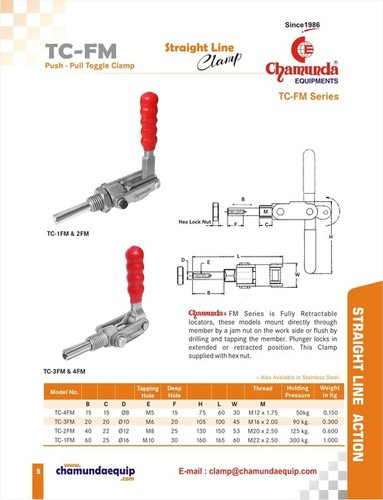 Push - Pull Toggle Clamps