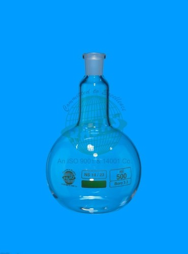 Single Neck Flat Bottom Flask