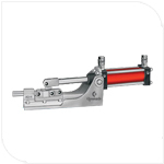 Air Power Operated Straight Line Toggle Clamp
