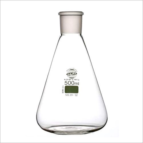 Grounded Neck Erlenmeyer Flask