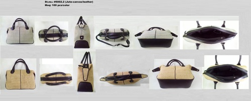LEATHER HAND-BAG