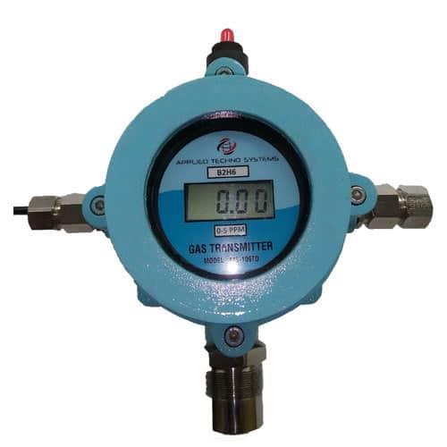 Diboron Gas Monitor
