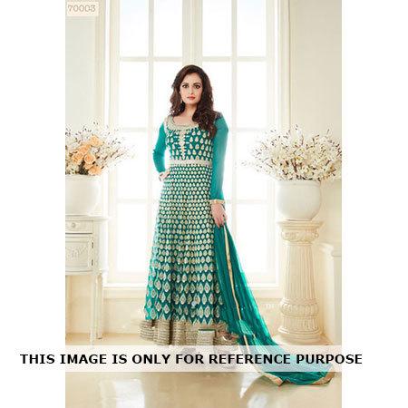 Diya Mirza Green Salwar Suit