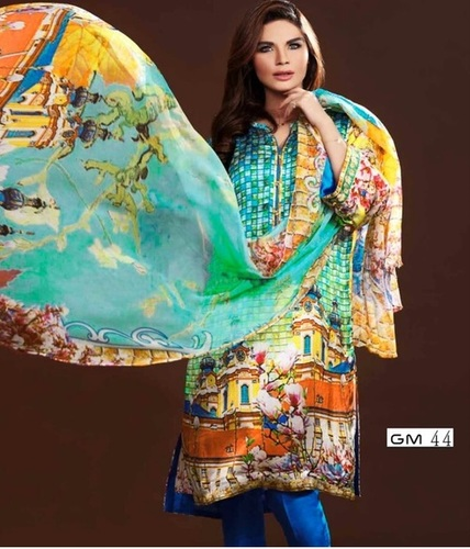 Stylish Digital Printed Salwar Suit