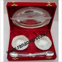 Silver Plated Bowlset