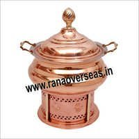 COPPER TABLE TOP CATERING SERVING DISHES