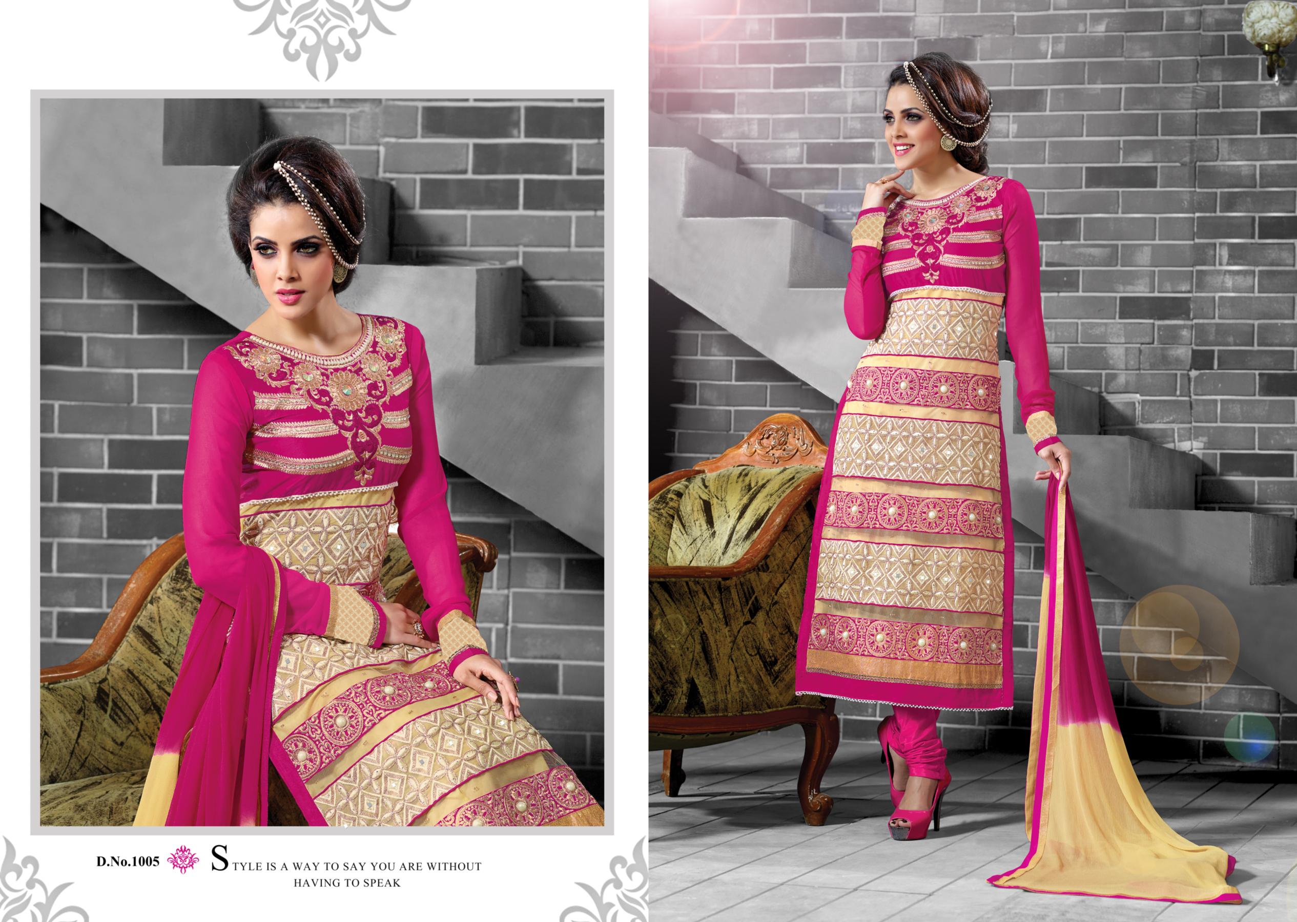 Beautiful Banglori Silk Suit