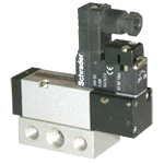 G 1/8 - 5/2 Solenoid Operated Subbase Exel Valves