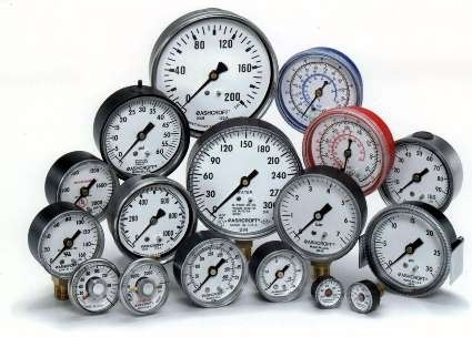 Industrial Pressure Gauges