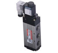 Solenoid Operated High Flow Valves - G 1/4 - 5/2 (43 Series)