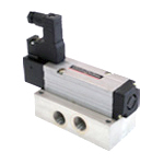 Solenoid operated subbase High flow valves - G 1/4 - 5/2