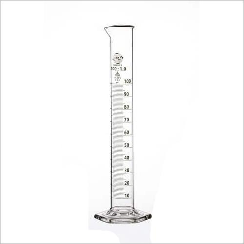 Measuring Cylinder Hexagonal Base