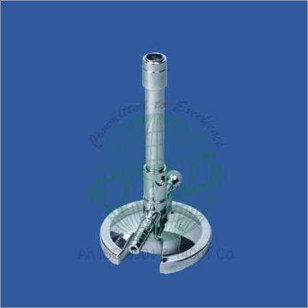 Bunsen Burner Chrome plated