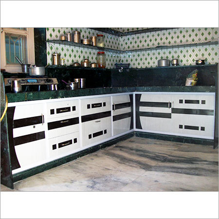 PVC Semi Modular Kitchen
