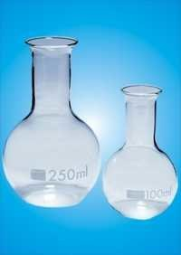Flask Flat Bottom Narrow Neck