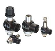 Banjo flow control valves - G 1/8 - G 1/2