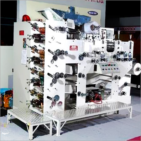 Four Colour Rotary Label Printing Machine