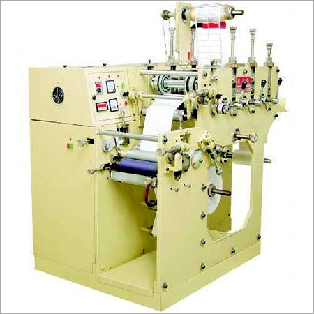 Single Colour Label Printing Machine