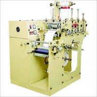 Single Colour Label Printing Machine