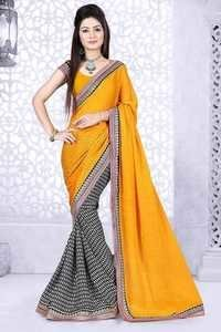 Multicolour Jacquard Saree