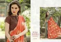 Chiffon Digital Printed Saree