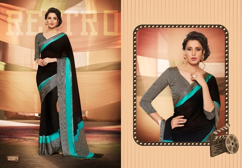 Exclusive Crape Saree