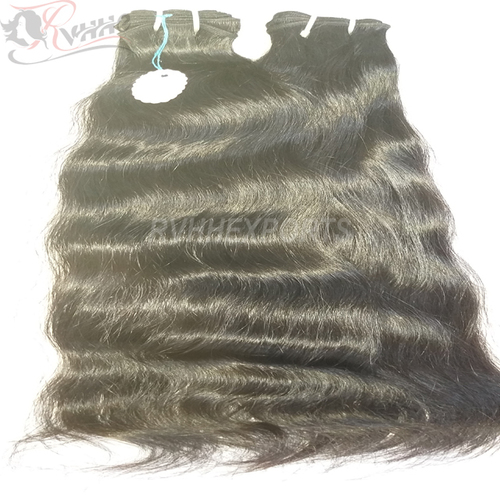 Natural Wavy Unprocessed Virgin Human Hair Extension