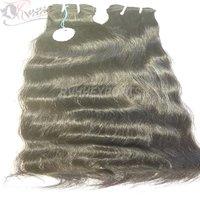 Natural Wavy Unprocessed Virgin Human Hair Extension