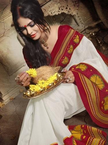 Bangali silk saree