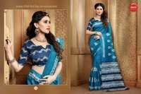 Art Silk Printed Saree
