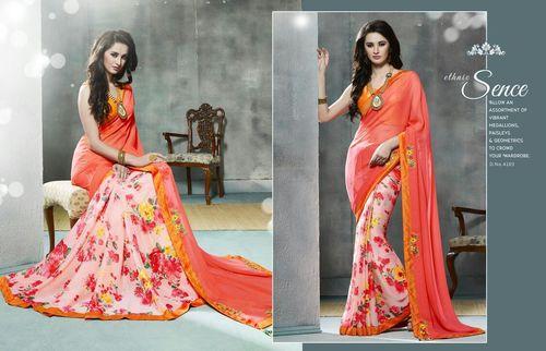 Designer Wear Printed Saree