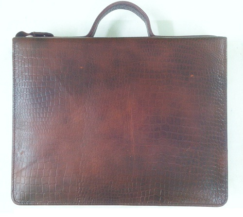 Croco-leather File cum organizer