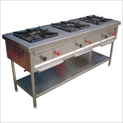 Three Burner Hotel Stove