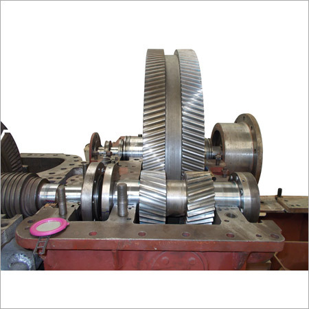 MW Steam Turbine Gear Mechanism