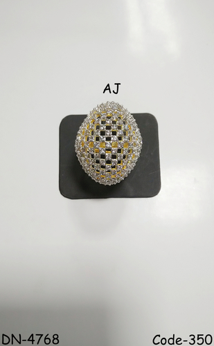 American Diamond Fancy Ring