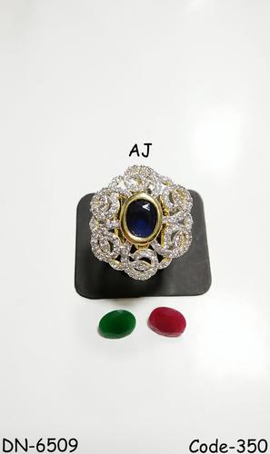 American Diamond Changeable Fancy Ring