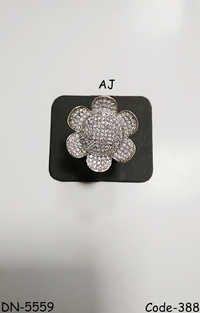American Diamond Fancy Ring