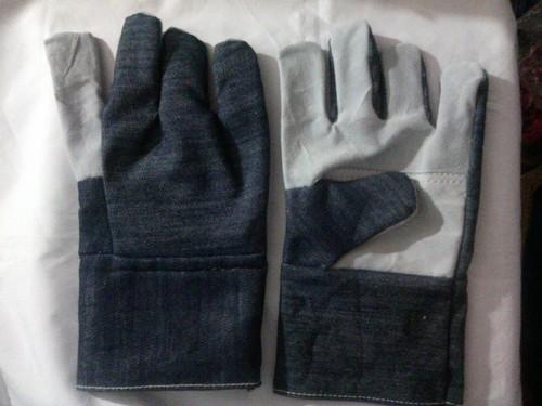 Half Jeans Hand Gloves