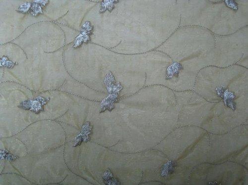 4X4 Silk Organza