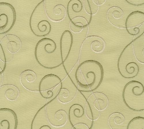 silk Organza embroidered fabrics