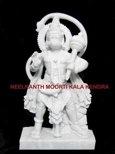 marble maruthi hanuman statue