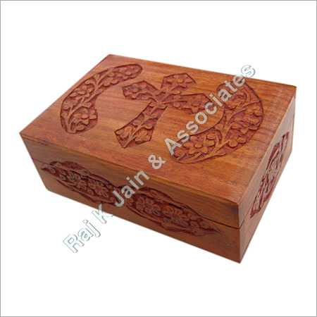 Wooden Holy Cross Carved Boxes