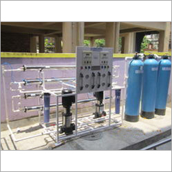 Double Pass Reverse Osmosis Plant