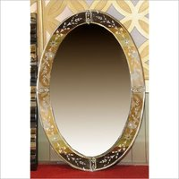 Imported Oval Mirror