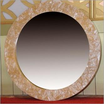 Marble Finish Mirror