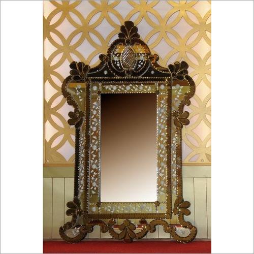 Mughal Texture Finish Mirror